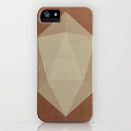 August Hartley iPhone Case