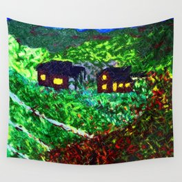 Autumn Fall Wall Tapestry