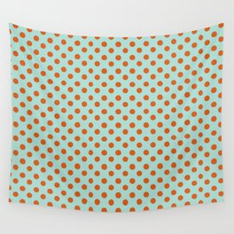 Polka Dot Frenzy Wall Tapestry
