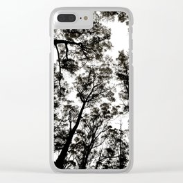 Circle in the Sky Clear iPhone Case