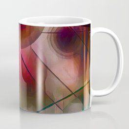 Circles Lines and Curves Coffee Mug