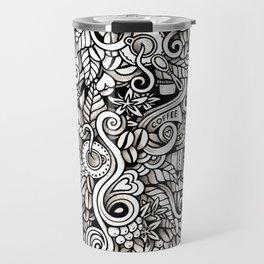 coffee doodle Travel Mug