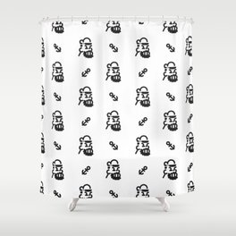 Bluto the terrible Shower Curtain