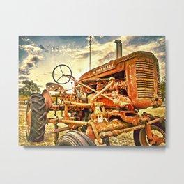Farmall Tractor Texas Metal Print