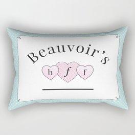 Beauvoir's B.F.F. Rectangular Pillow
