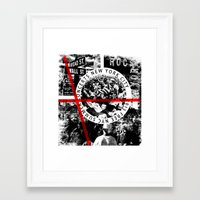 concert Framed Art Prints featuring Concert by emeget