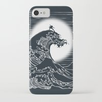 airbender iPhone & iPod Cases featuring Waterbending by Tobe Fonseca