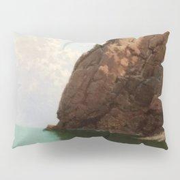 'The Secret Cove' landscape maritime painting Pillow Sham