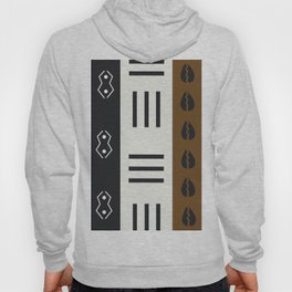 African Tribal Pattern No. 66 Hoody
