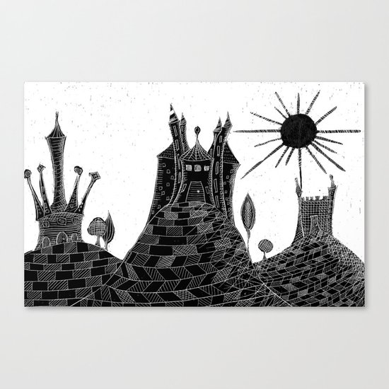 Bubu´s castle Canvas Print