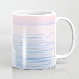 Dreamy Pastel Seascape 2. Blue & Nude #pastelvibes #Society6 Coffee Mug
