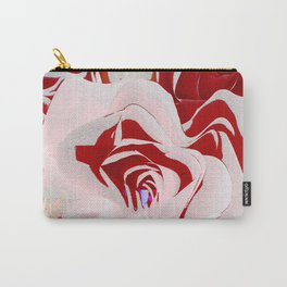 Unwild Me (Rose Abstract I) Carry-All Pouch