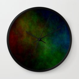 Tinted Clouds Wall Clock