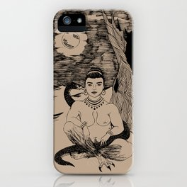 Lilith in the Garden of Edom iPhone Case