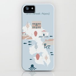 Leros (Greek: Λέρος) iPhone Case