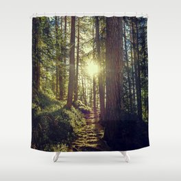 Hidden trail Shower Curtain