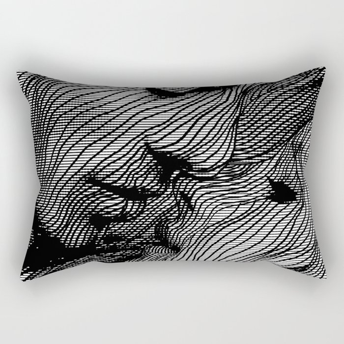 Interlaced Rectangular Pillow
