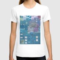 seoul T-shirts featuring Seoul City #3 by Rob McClelland