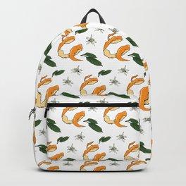 Bitter Trio: Orange Skin Backpack