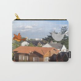 Flying with friends. Carry-All Pouch