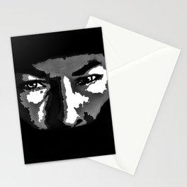 RIP Nicky Hayden 69 - black and white helmet portrait popart Stationery Cards