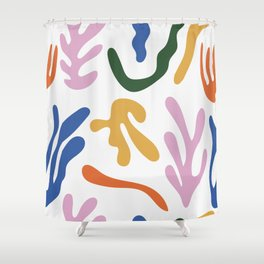 Artistic Graphic Design Shower Curtain