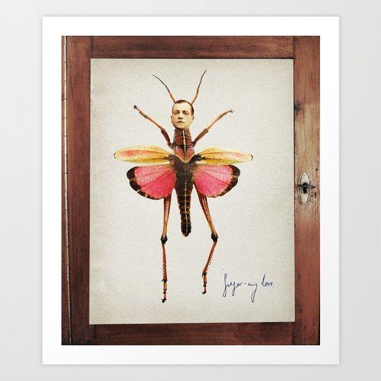 gregor-my love Art Print