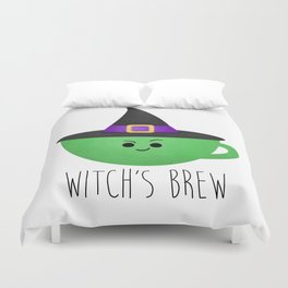 Witch's Brew Duvet Cover
