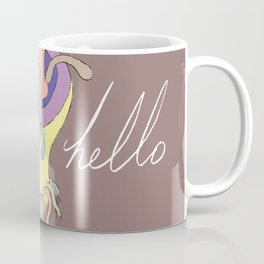 Hello. Coffee Mug