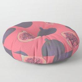 Fig pattern Floor Pillow