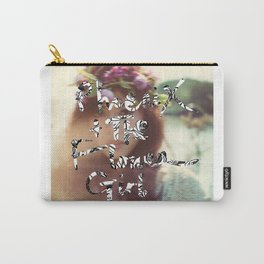 "PHOENIX AND THE FLOWER GIRL ""photo synth thesis"" PRINT Carry-All Pouch"