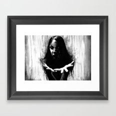 The Raven Was Called Sin Framed Art Print