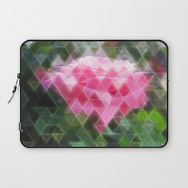 Pink Roses in Anzures 6 Art Triangles 2 Laptop Sleeve
