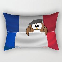 Frenchy owl Rectangular Pillow