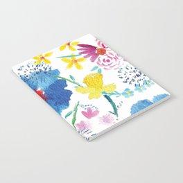 Florals in Watercolor Notebook