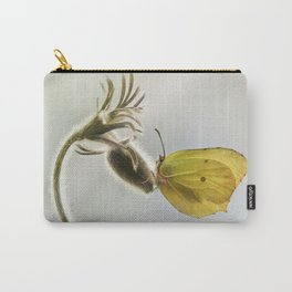 Spring impression with yellow butterfly Carry-All Pouch