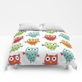 Owl Fun Comforters