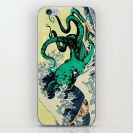 Great Octo-Wave iPhone Skin