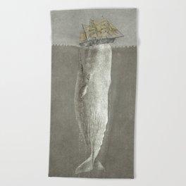 Revenge of The Whale Beach Towel