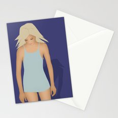 Blond Perfection Stationery Cards