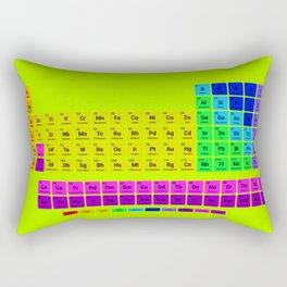 Periodic table of element Rectangular Pillow