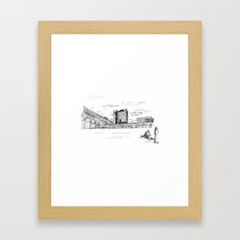 Eads Bridge - St. Louis Framed Art Print