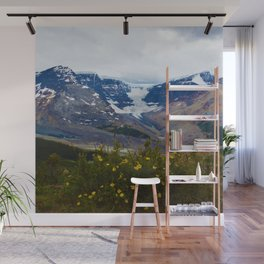 The Athabasca & Snow Dome Glaciers in Jasper National Park, Canada Wall Mural