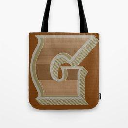 BOLD 'G' DROPCAP Tote Bag