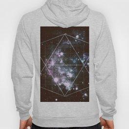 Galaxy Sacred Geometry dark Hoody