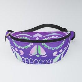 Love Skull (violette gradient) Fanny Pack