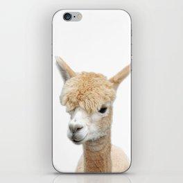 Fawn Alpaca iPhone Skin