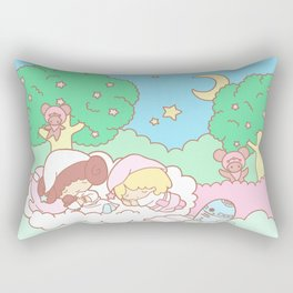 Sleepy Ewok Dream Forest Rectangular Pillow