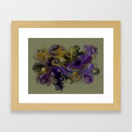 Coloured fantasy Framed Art Print