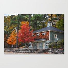 Walden Pond Bath House Concord MA Canvas Print